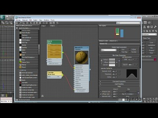 3ds max 2011 новые возможности. 9 active view in slate material editor
