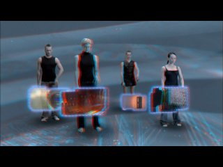 Moving holograms anaglyph stereoscopic 3d demo (july 2009) hd качество 720p (анаглиф)