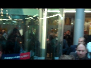 Официальное Взвешивание Виталия Кличко и Одланьера Солиса в Кёльне 18 марта 2011 года