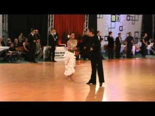 IDSF INTERNATIONAL OPEN LATIN / DSFO 2011 / Andrey Gusev Elizaveta Cherevichnaya - 1/2  final Chacha