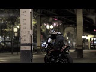 Красивые трюки на мотоцикле