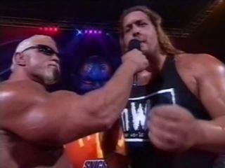 WCW Halloween Havoc Scott Steiner Interview Nitro Girls Dance 25 Октября 1998