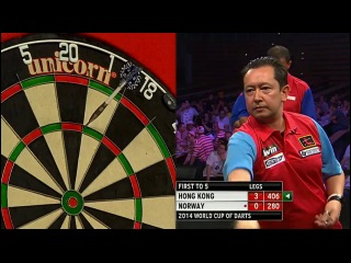 Hong Kong vs Norway (PDC World Cup of Darts 2014 / First Round)