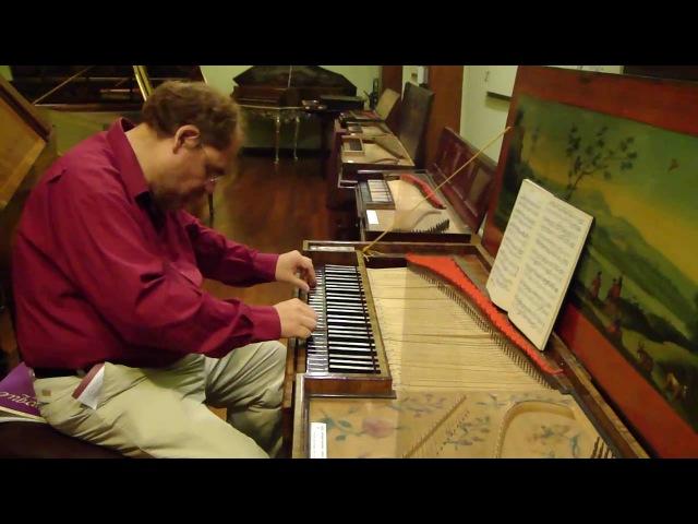 Original Hass Clavichord 1763 Poco Allegro from Prussian Sonata n° 1