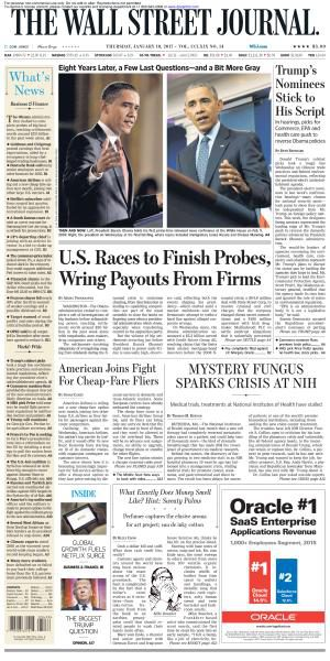 The Wall Street Journal January 19 2017 FreeMags