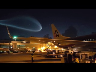 HD Cool footage of the Bizarre 'UFO' that appeared over Miami last year