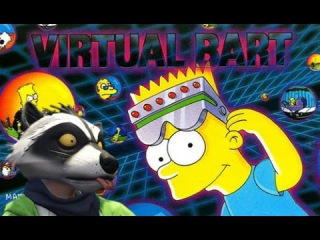 Консоли из 90-х: The Simpsons: Virtual Bart (Хрюшка!!!)