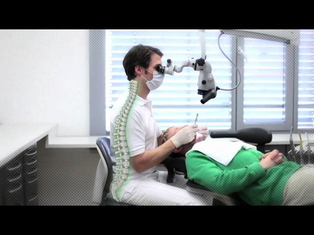 Carl Zeiss ergonomická práca pomocou dentálneho mikroskopu