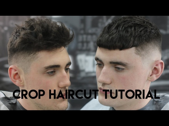 Haircut Turorial CROP Kieron The Barber
