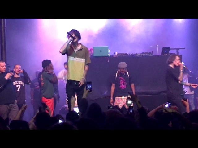 Lil Peep Lil Tracy WitchBlades Live in Santa Ana 4 29 17