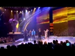Leona Lewis performing 'Happy' Live with contestants of 'La Voz' Spain (12/12/12)