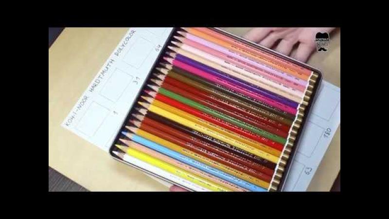 В ТОП или В ТОПКУ: Цветные карандаши специально для портретов KOH I NOOR HARDTMUTH