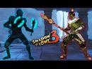 Shadow Fight 3 СЛАБЕНЬКИЙ БОСС и битва со ЗМЕЕГОЛОВЫМ Игра видео для детей БОЙ С ТЕНЬЮ 3