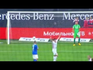 Согаз Чемпионат России по футболу Динамо Арсенал 2-2  яркие моменты матча