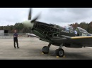 Spitfire MK XVI - First Engine Run in 17 Years!