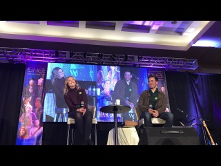 Colin O'Donoghue and Rose Reynolds OUAT Vancouver 2018 Main Panel Part 2