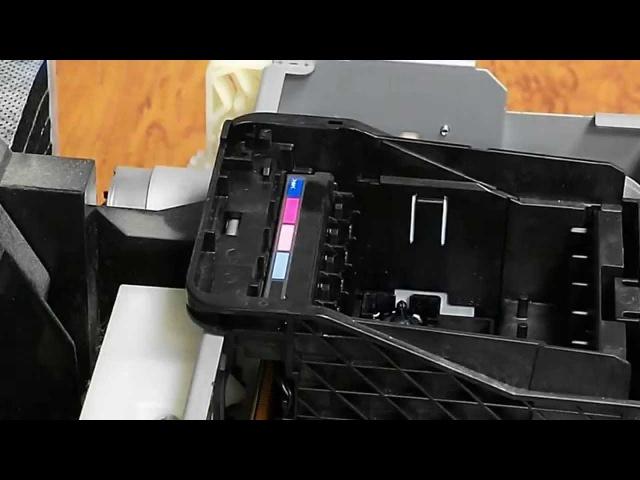 Как снять печатающую головку Epson R290 T50 P50 TX650 L800 R270 и прочих