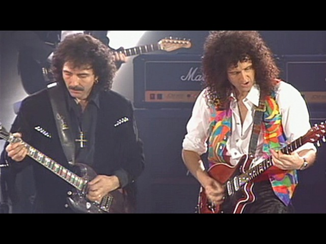 Queen Roger Daltrey Tony Iommi I Want It All 1992 Live