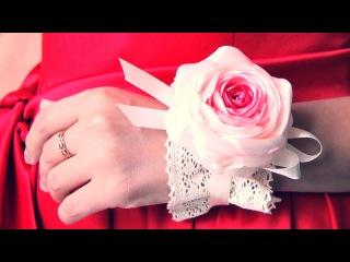 БРАСЛЕТ Подружки Невесты своими руками / Bridesmaid Flower Bracelet. Tutorial / ✿ NataliDoma