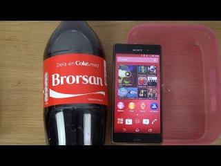 Sony Xperia Z3 Coca-Cola - Test (4K)