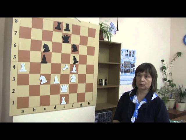 Объяснение правил игры шахматный футбол ее автором Татьяной Огневой