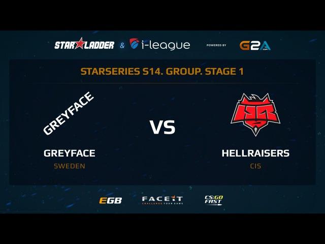 GreyFace vs Hellraisers - Map 1 - Overpass (SL i-League StarSeries XIV)