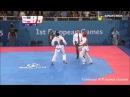 TAGHIZADE AZE – ROBAK POL FINAL MENS-68kg TAEKWONDO WTF BAKU 2015 EUROPEAN GAMES