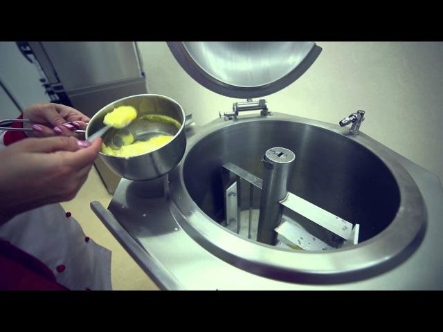 Новинка 2013 года пищеварочные котлы с миксером и ручным опрокидыванием варочного сосуда КПЭМ ОМР