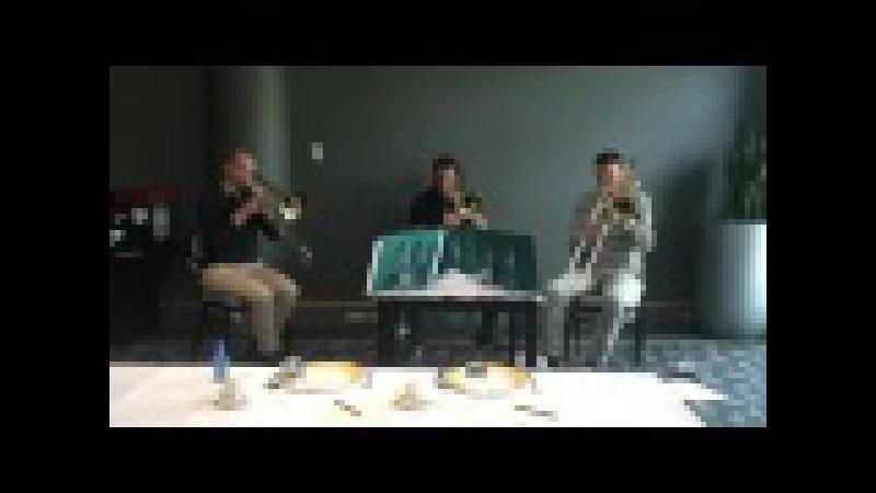 Fire Horse (S. Verhelst) excerpts Trombone Trio