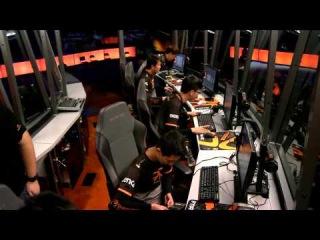 9-ая Студия Аналитики перед 1-ой игрой VP-Fnatic TI5.