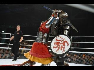 Knights fighting - Evgeniy Bedenko vs. Ivan Vasilev, M-1 Medieval  - M-1 Challenge 56, Moscow