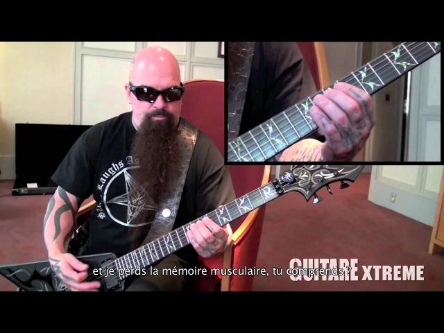 Kerry King SLAYER Guitare Xtreme 70