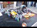 Уличный художник Арбат