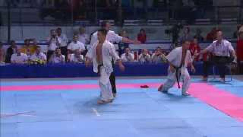 II KWU WC Final m-70kg. Toshihide Iwasawa (Japan) - Georgi Lotarov (Bulgaria)