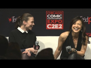Kickass women of SHIELD at C2E2- Hayley Atwell and Ming Na Wen (Part 1)