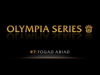 OLYMPIA SERIES: Fouad Abiad | Pro BB World
