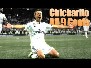"Javier ""Chicharito"" Hernandez - All 9 Goals 2014/2015 HD"