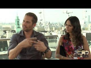 Paul Walker & Jordana Brewster Talk 'Fast & Furious 6' & Future Films