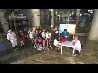 141130 Red Velvet Full Cut @ KBS Let's Go Dream Team Season 2