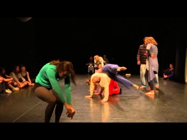 Ruslan Baranov Marina Baranova group score dance improvisation PushOK fest in Kiev