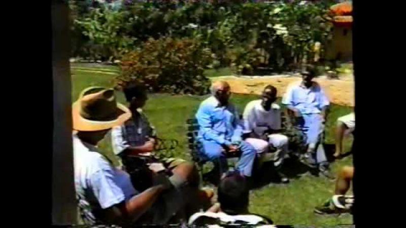 Capoeira Mestres Gato Preto Doirado de Santo Amaro da Purificação na Bahia e Onça Tigre 01