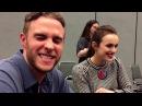 Elizabeth Henstridge and Iain De Caestecker for Agents of SHIELD at Wondercon 2017!