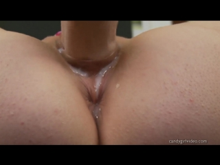 Creamy pussy masturbation close up (wet pussy, solo, мастурбация, мокрая киска крупным планом)