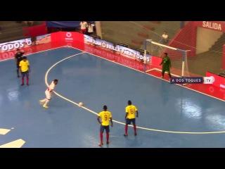#CopaAmericafutsal Ecuador vs Per - #GrupoB