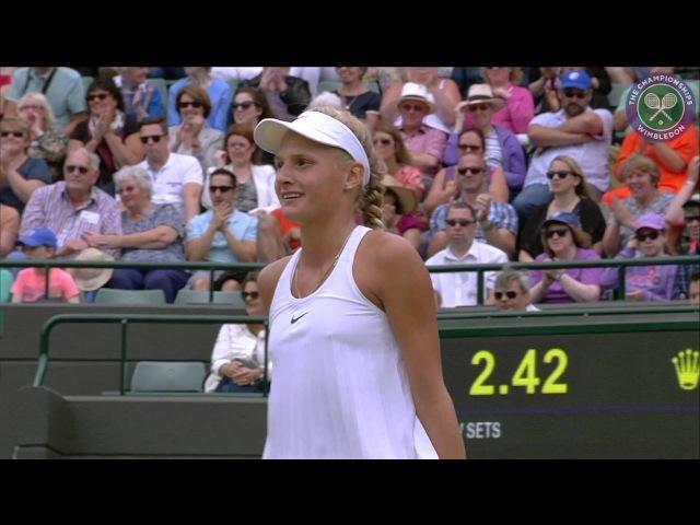 2016 Day 12 Highlights Dayana Yastremska vs Anastasia Potapova