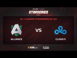 Alliance vs Cloud 9, Game 2, SL i-League StarSeries Season 3, EU