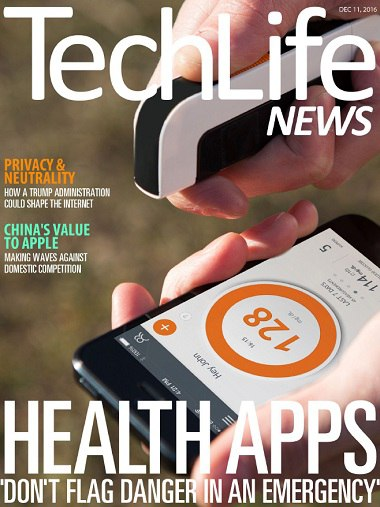 Book cover Techlife News - December 11  2016