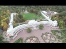 Аэросъемка Большого Меншиковского дворца (Ораниенбаум)