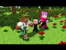 Диллерон и Миникотик. Свин и Лаки блоки. Minecraft Мультики Lucky Block