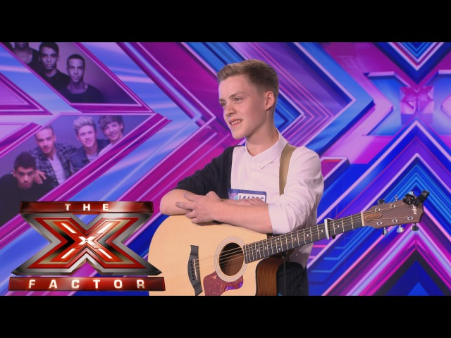 Reece Bibby sings Disclosure's Latch Audition Week 1 The X Factor UK 2014